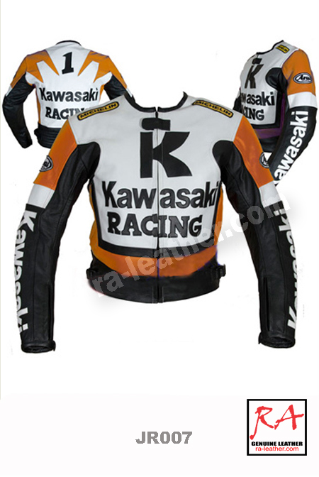 Jaket Kulit Racing JR007