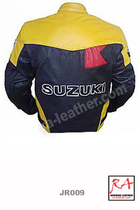 Jaket Kulit Racing JR009