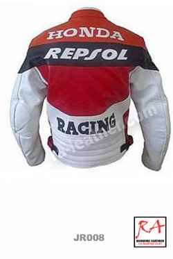 Jaket Kulit Racing JR008