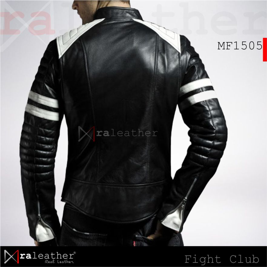 Jaket Kulit Film MF1505 Fight Club