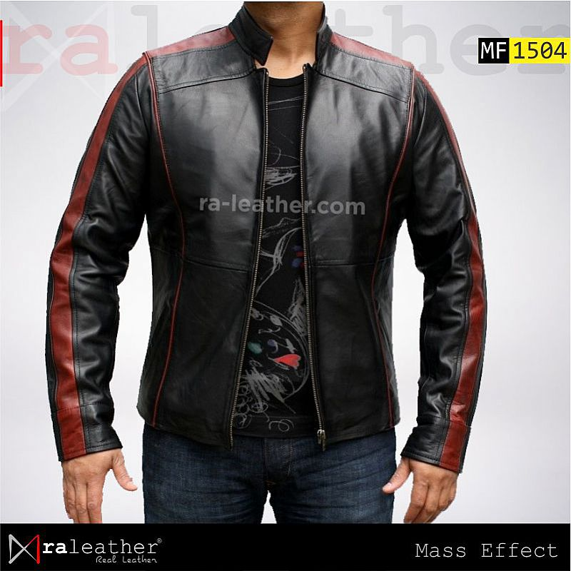 Jaket Kulit MF1504 - Mass Effect 3