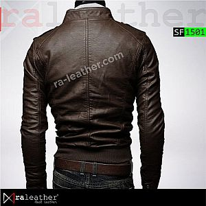 Jaket Kulit Slim Fit SF1501