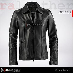 Jaket Kulit MF1524 The Wheelman