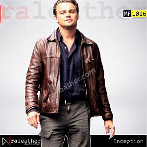 Jaket Kulit Inception - Leonardo DiCaprio.