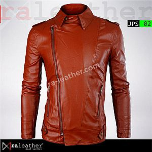 Jaket Kulit Slim Fit